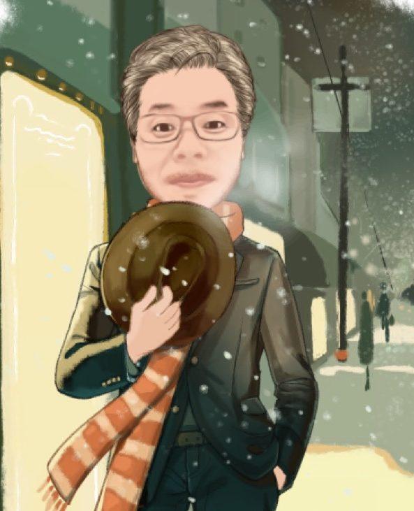 あき庵プロフィール画像冬バージョン